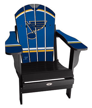 St. Louis Blues® NHLPA Player Jersey Chair
