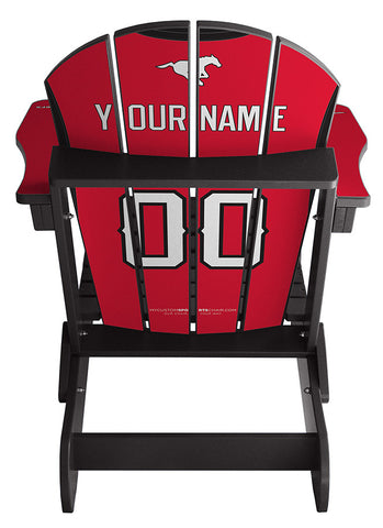 Calgary Stampeders CFL Jersey Chair
