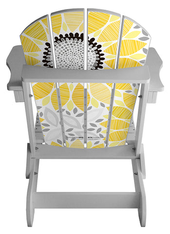 Sunflower Pattern Lifestyle Chair