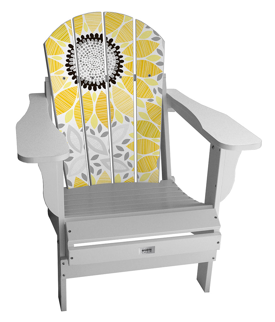 Sunflower Pattern Complete Custom Lifestyle Chair