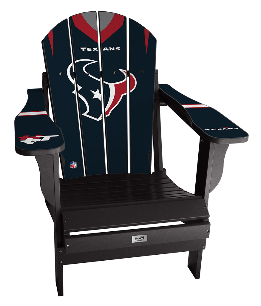 Houston Texans Custom with personalized name and number Jersey Chair