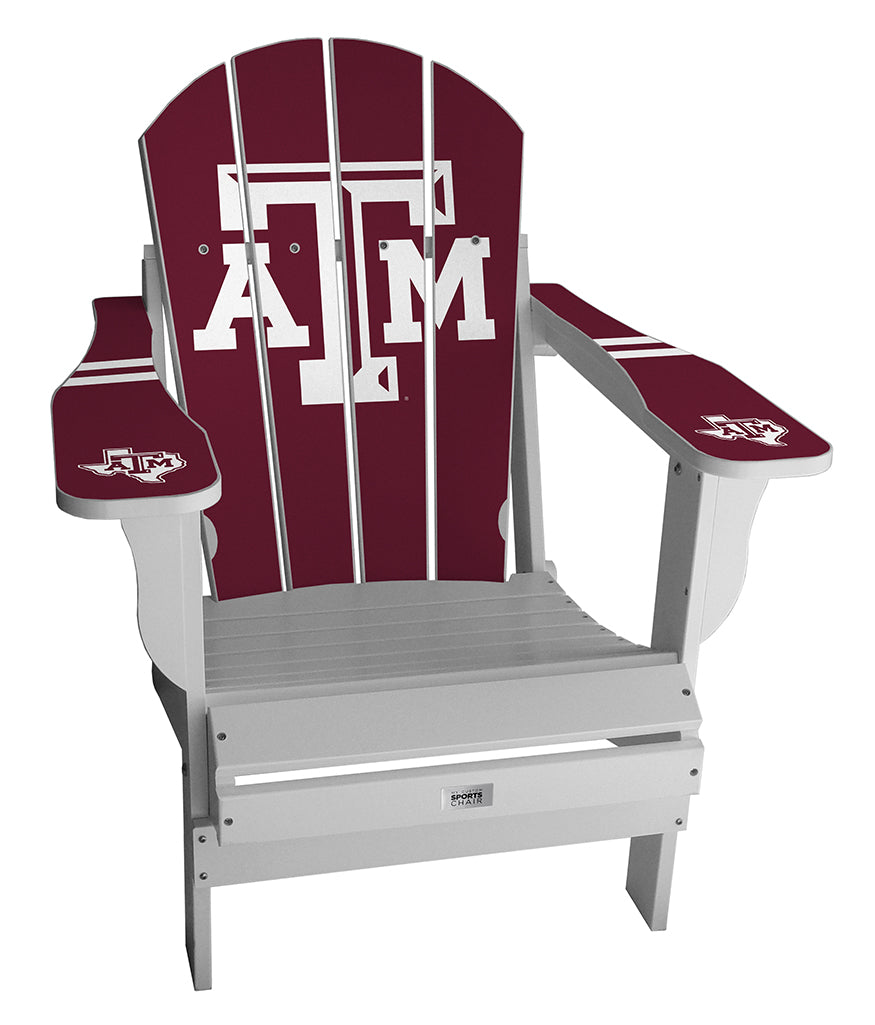 Texas A&M Complete Custom with personalized name and number Chair