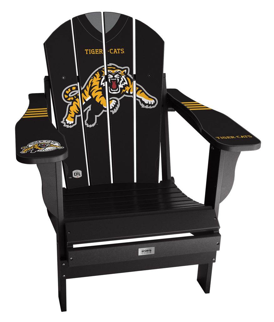 Hamilton Tiger-Cats CFL Jersey Chair