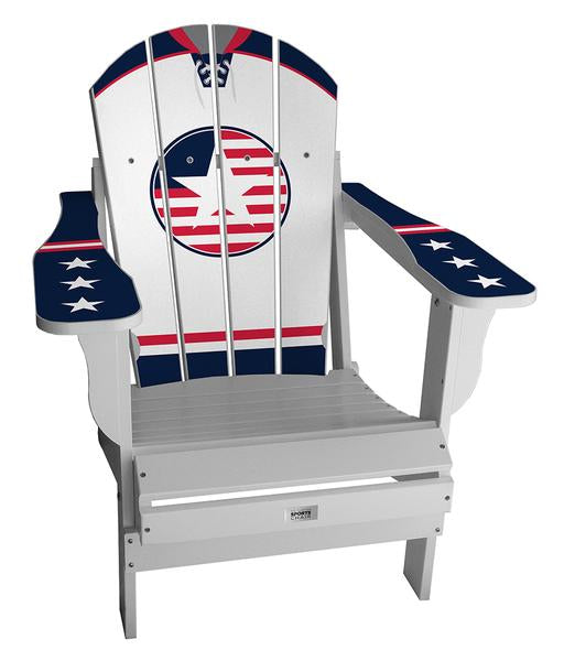 USA Retro International Custom with personalized name and number Chair Mini