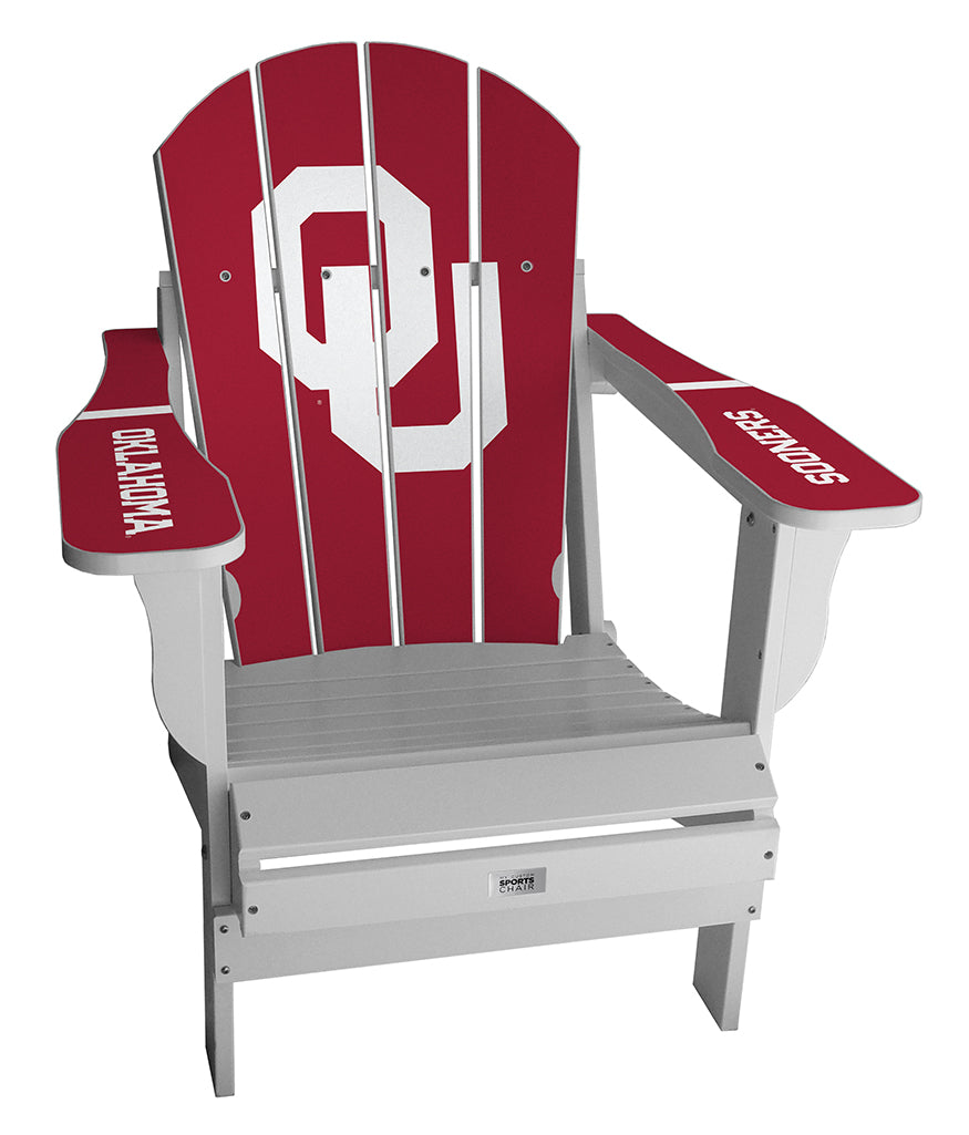 University of Oklahoma Complete Custom with personalized name and number Chair
