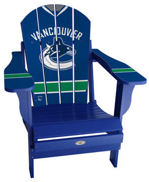 Vancouver Canucks® NHLPA Player Jersey Chair