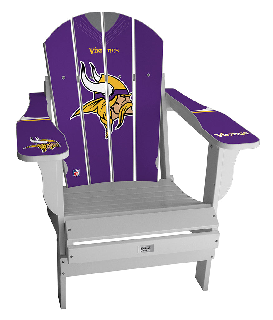 Minnesota Vikings Custom with personalized name and number Jersey Chair