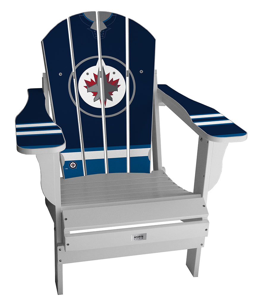 Winnipeg Jets™ Complete Custom with personalized name and number Jersey Chair