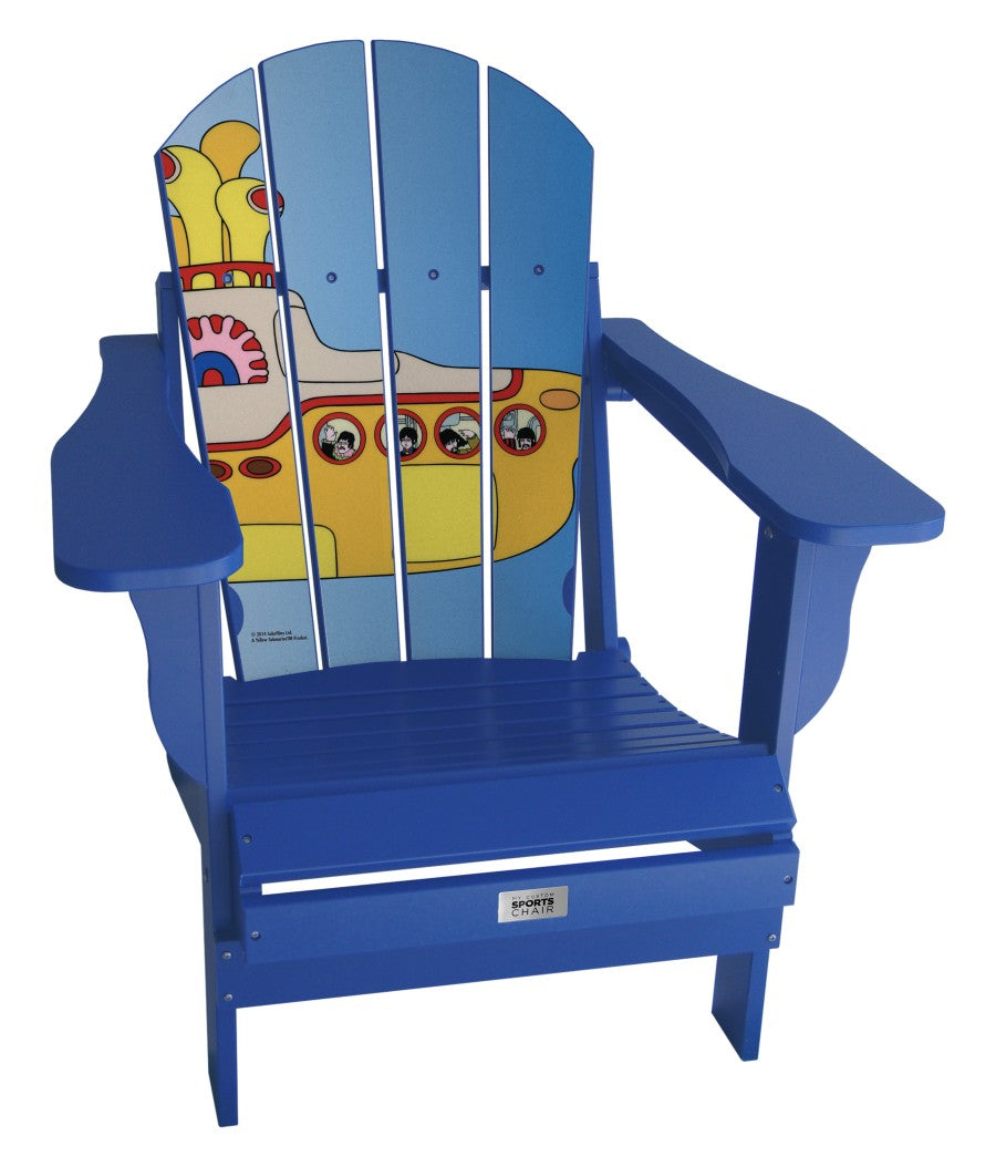 The Beatles & Apple Corp - Custom Sports Chair - Yellow Submarine