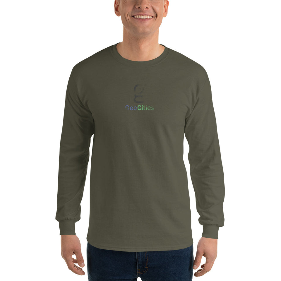 GeoCities Men's Long Sleeve T-Shirt
