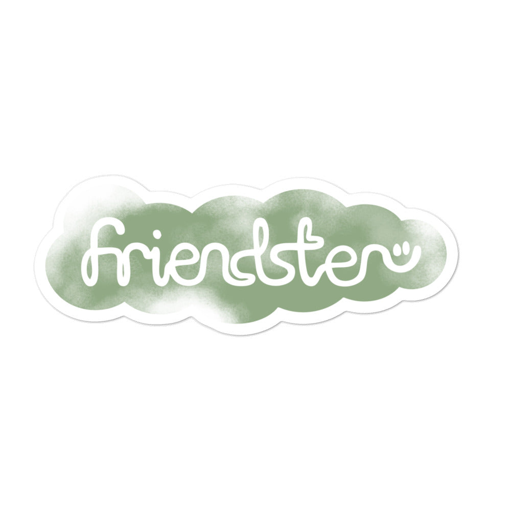 Friendster Sticker