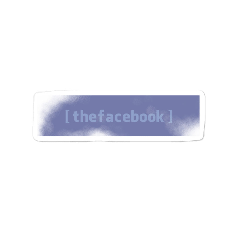 the facebook Sticker