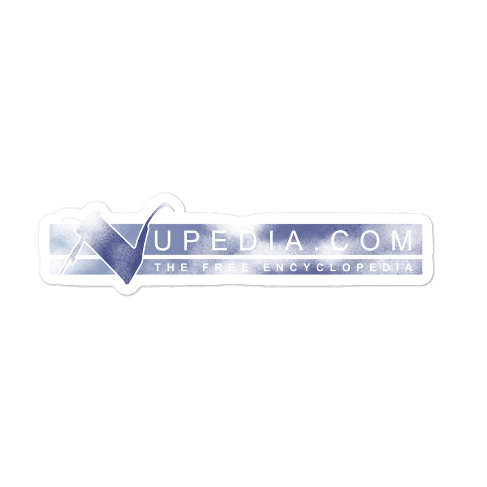 nupedia Sticker