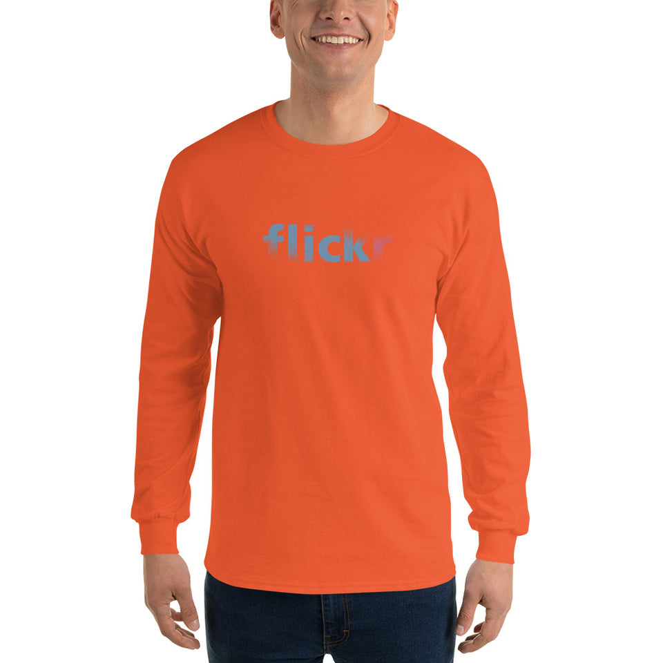Flickr Men's Long Sleeve T-Shirt