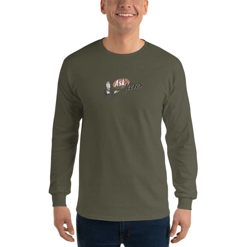 Ask Jeeves Men's Long Sleeve T-Shirt