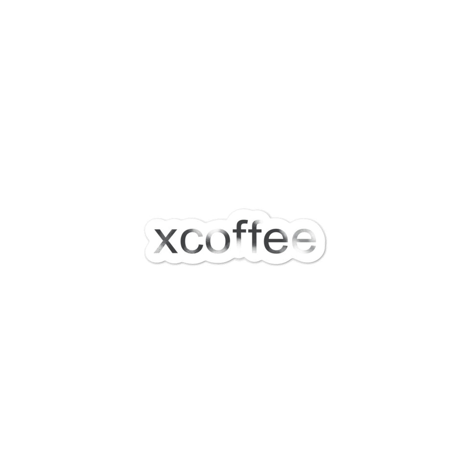 xcoffee Sticker