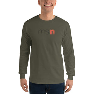 MSN Men's Long Sleeve T-Shirt