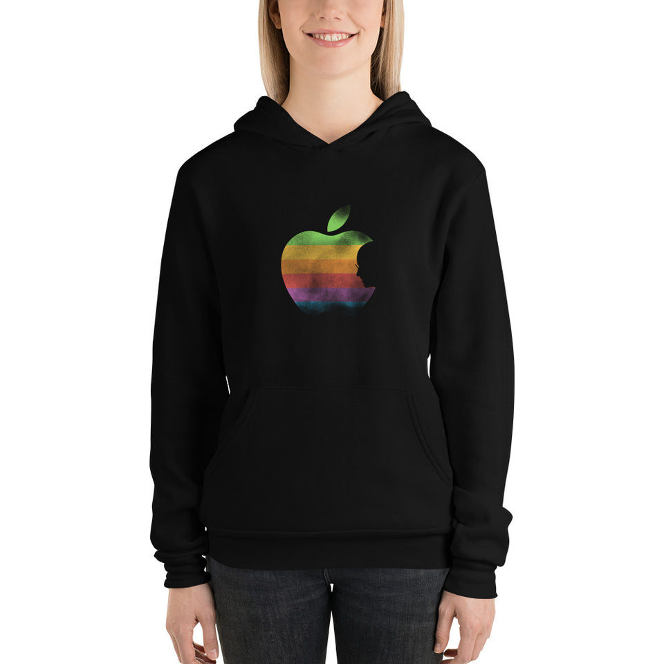 Apple by Rob Janoff Hoodie