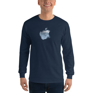 Apple translucent Men's Long Sleeve T-Shirt