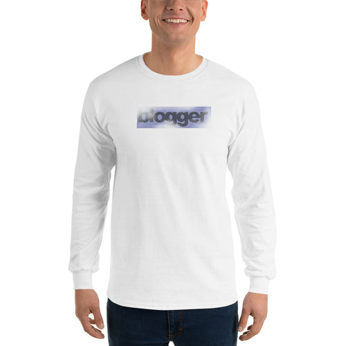 Blogger Men's Long Sleeve T-Shirt