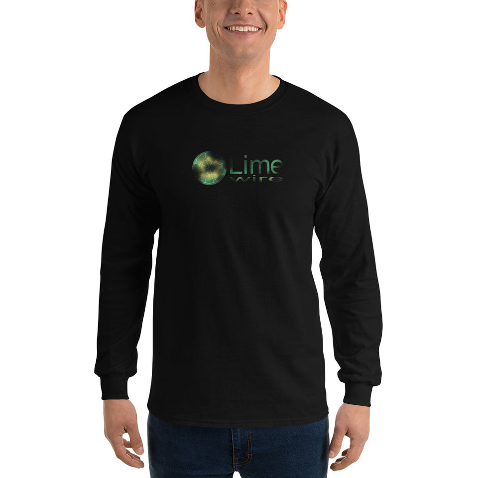 Limewire Men's Long Sleeve T-Shirt