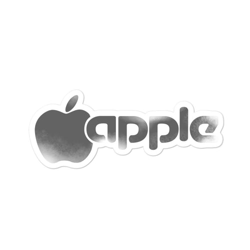 Apple Vintage Sticker