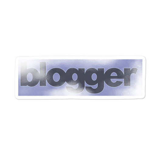Blogger Sticker