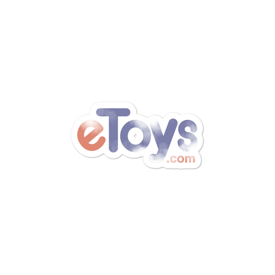 eToys Sticker