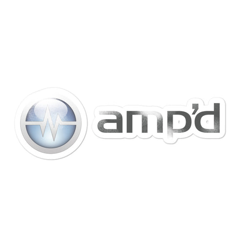 Amp'd Sticker