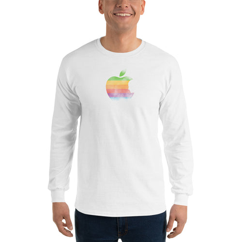 Apple by Rob Janoff Men's Long Sleeve T-Shirt