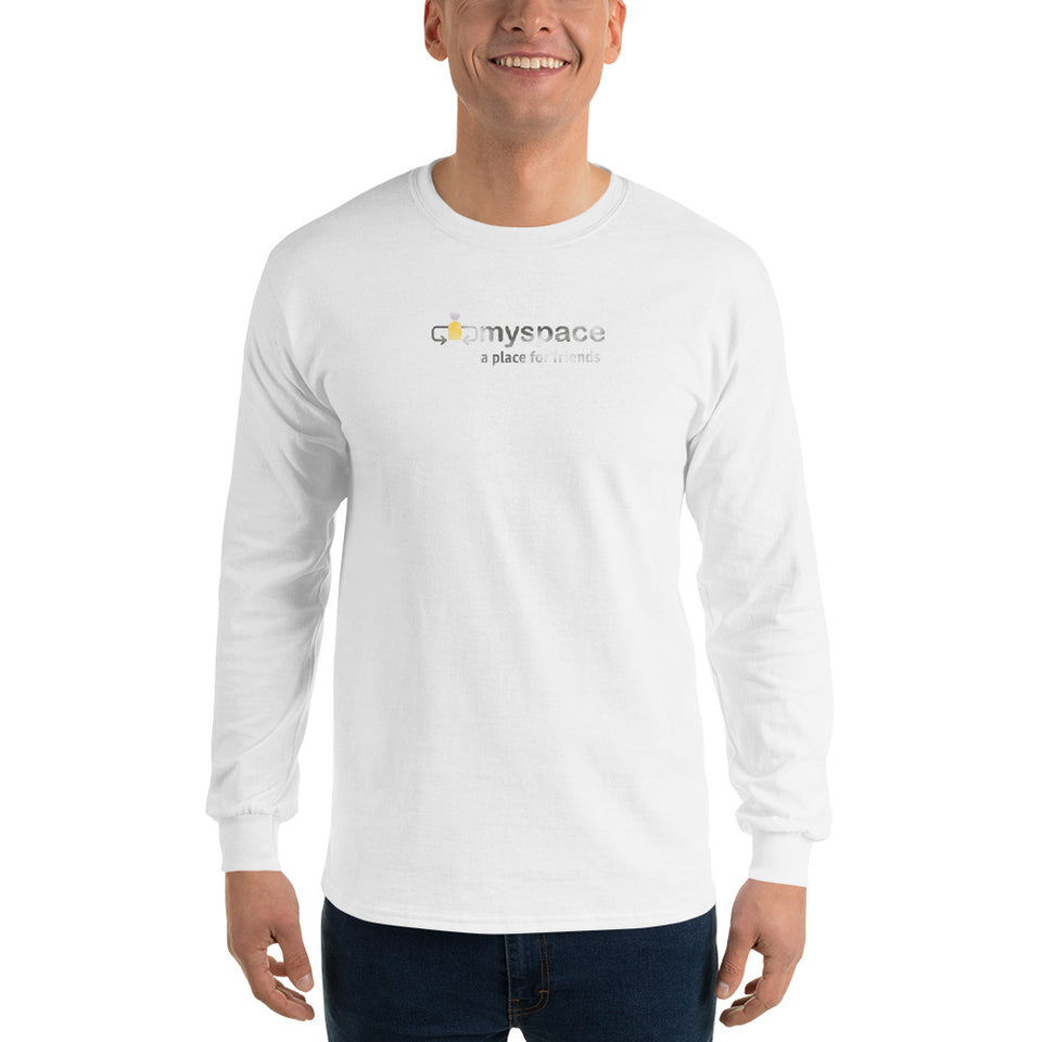 My Space Men's Long Sleeve T-Shirt