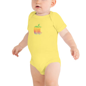 Apple by Rob Janoff Baby Onesie