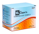 Compressed Towels, Travel Towels - Box Quantity 160, 20 tubes of 8 - Survival Gear, Camping Gear
