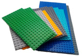 Building Blocks Base Plates - Set of 12, Compatible with Legos
