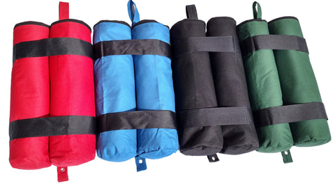 Double-Stitched Weight Bags for Canopies, Tents, Awnings - McClure's Canopy Weight Bags
