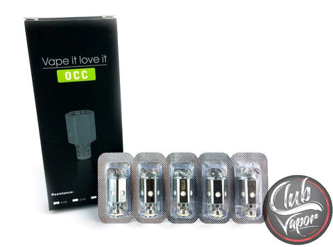 Elite Tank Replacement Coils by Sigelei - 5 Pack - Club Vapor USA