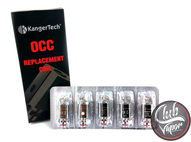Subtank OCC Replacement Coils by KangerTech - 5 pack - Club Vapor USA - 1