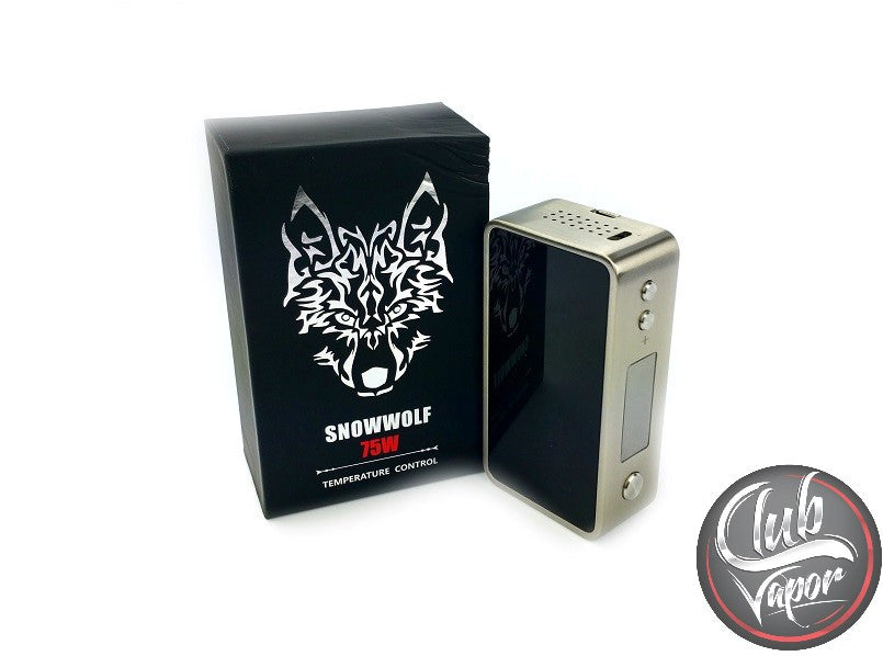 SnowWolf Mini 75W Temperature Control Box Mod by Asmodus - Club Vapor USA