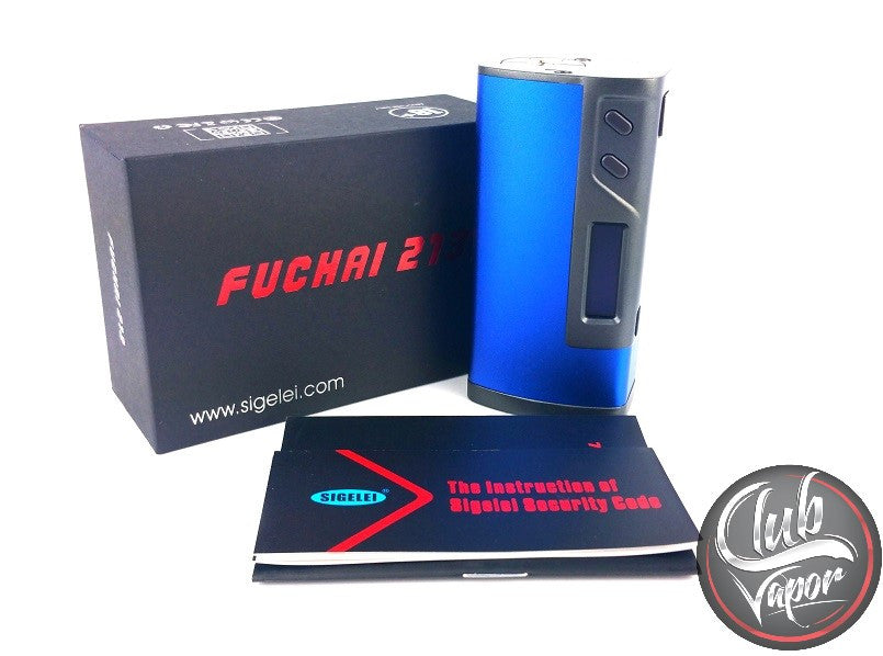 Sigelei FuChai 213W TC Box Mod - Club Vapor USA - 1
