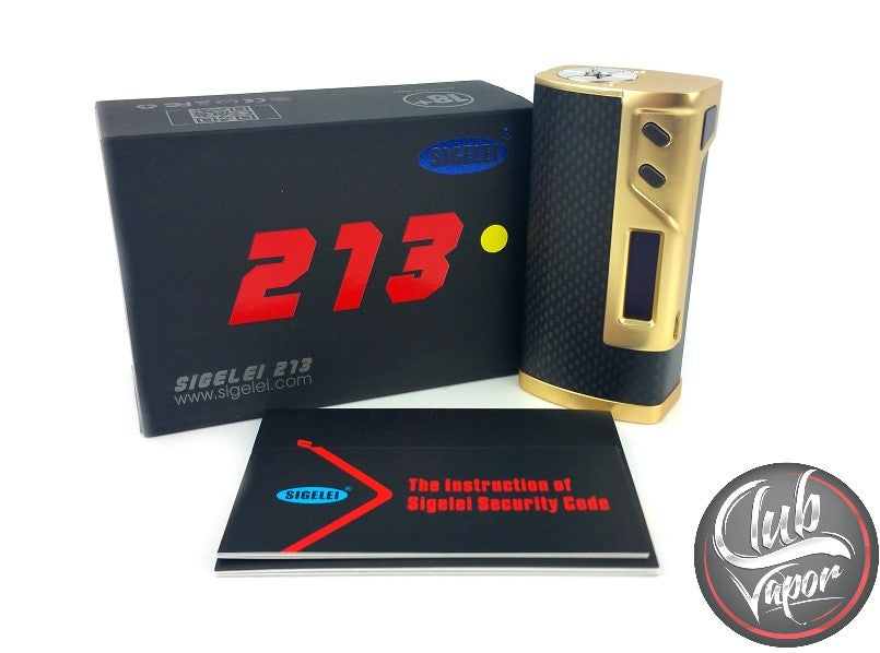 Sigelei 213W TC Box Mod - Club Vapor USA