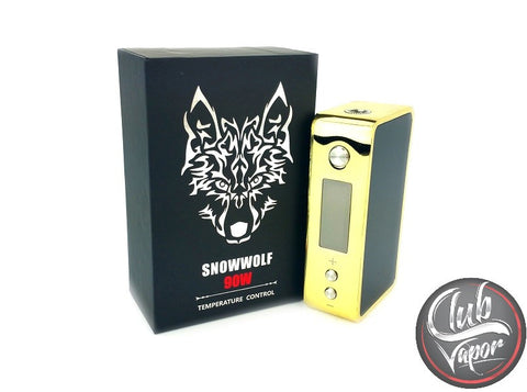 SnowWolf 90W TC Box Mod by Asmodus - Club Vapor USA - 1
