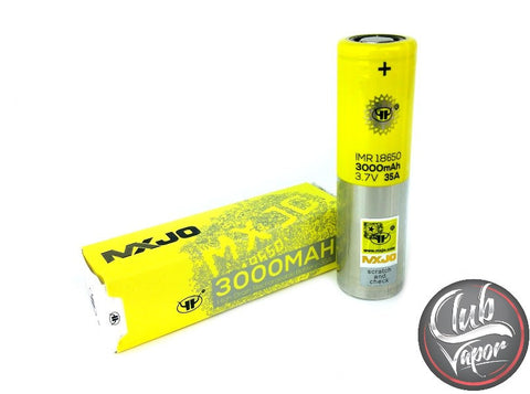 MXJO 18650 3000mAh 35A Flat Top Battery - Club Vapor USA