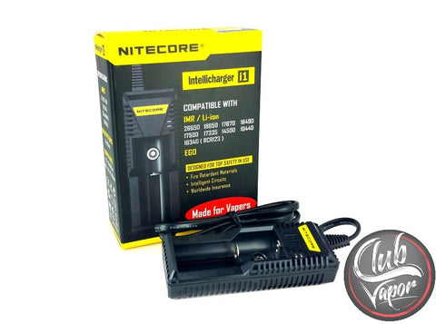 Intellicharger i1 Battery Charger by Nitecore - Club Vapor USA