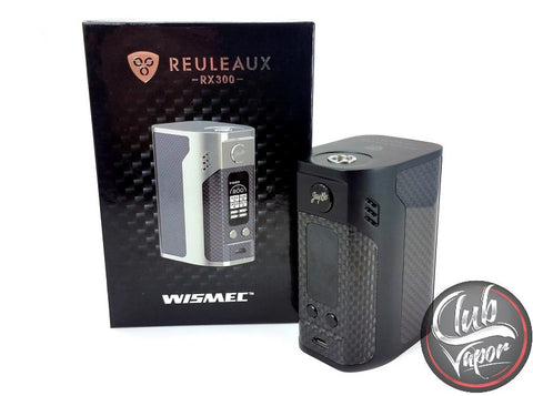 Reuleaux RX300 Carbon Fiber Box Mod by Wismec - Club Vapor USA - 1
