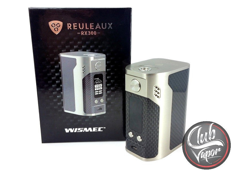 Reuleaux RX300 Carbon Fiber Box Mod by Wismec - Club Vapor USA - 2