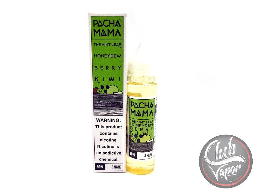 The Mint Leaf 60mL by PACHAMAMA E Liquid