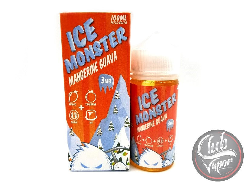 Mangerine Guava E-Liquid by Ice Monster 100mL