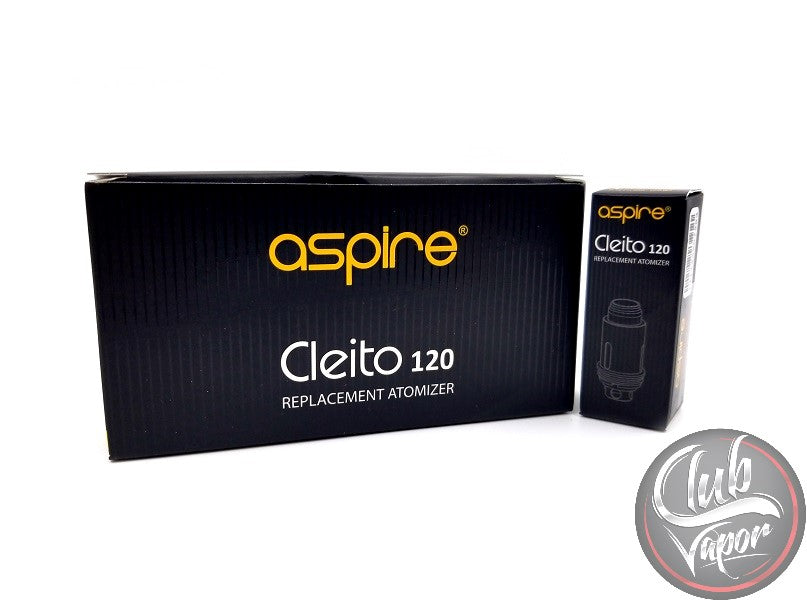 Cleito 120 Replacement Coils by Aspire