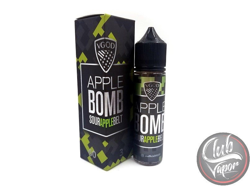 Apple Bomb Sour Apple Belt 60mL E-Liquid by VGOD