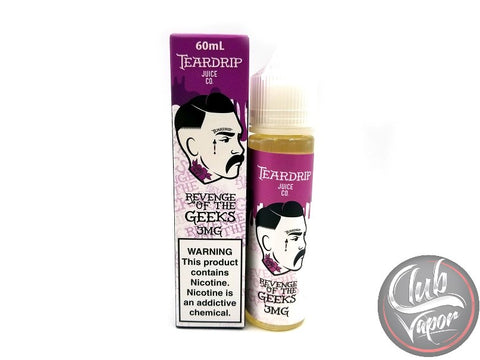 Revenge of the Geeks 60mL E Liquid by TearDrip Juice Co.